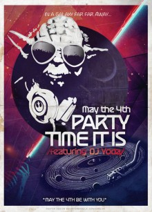 May the 4th Be with You DJ Yoda Star Wars bypetermakela
